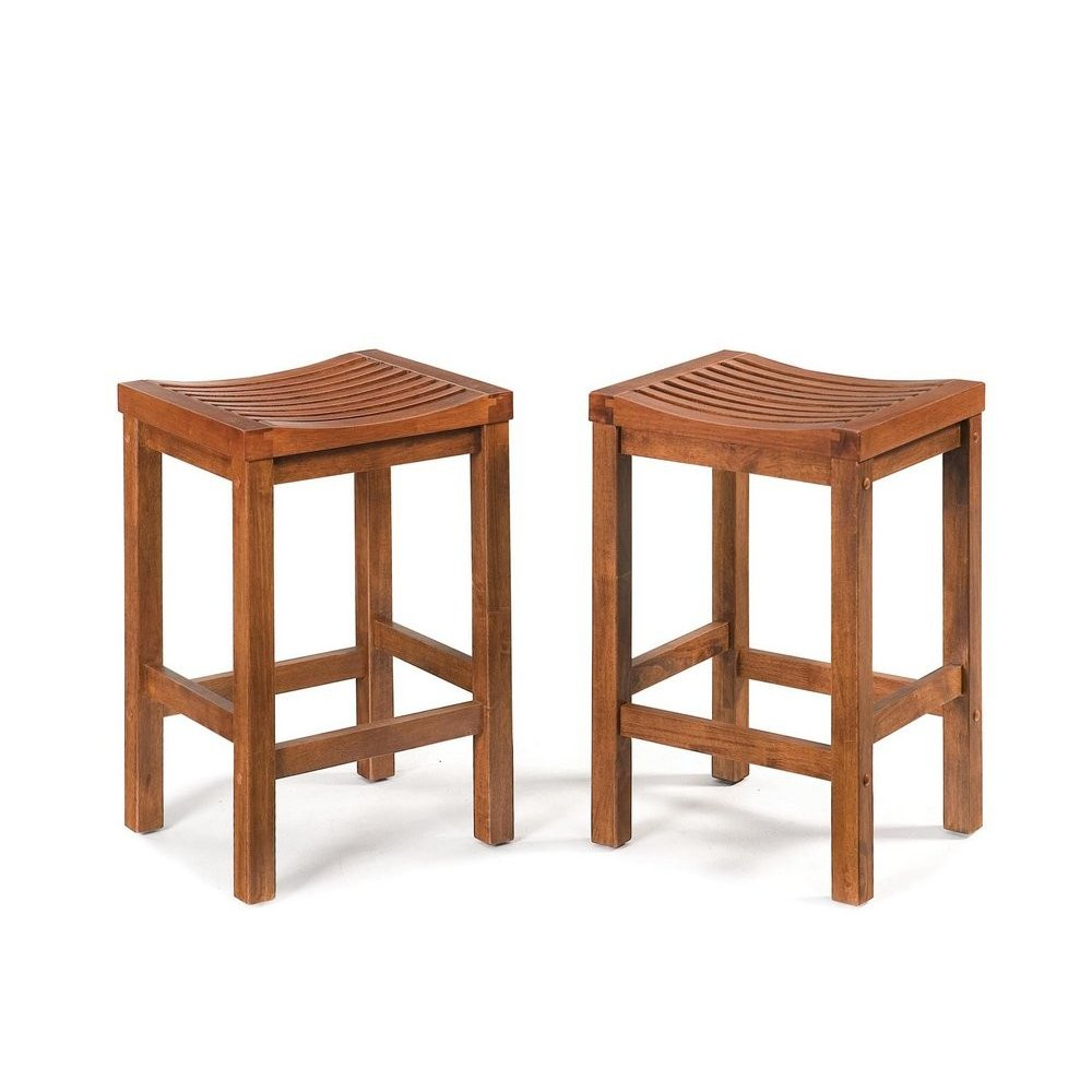 24 inch Cottage Oak Bar Stool - Homestyles Furniture 5636-88