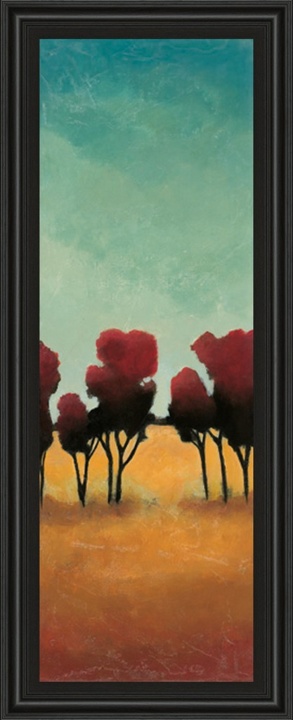 """18 in. x 42 in. """"A New Day Il"""" By Angelina Emet Framed Print Wall Art - Classy Art 1384"""