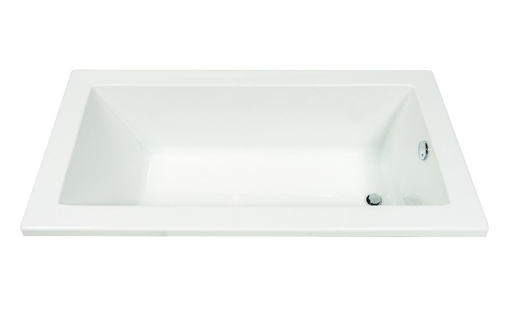 "Allen Drop In Tub 60"" - A&E Bath and Shower BT-0002"