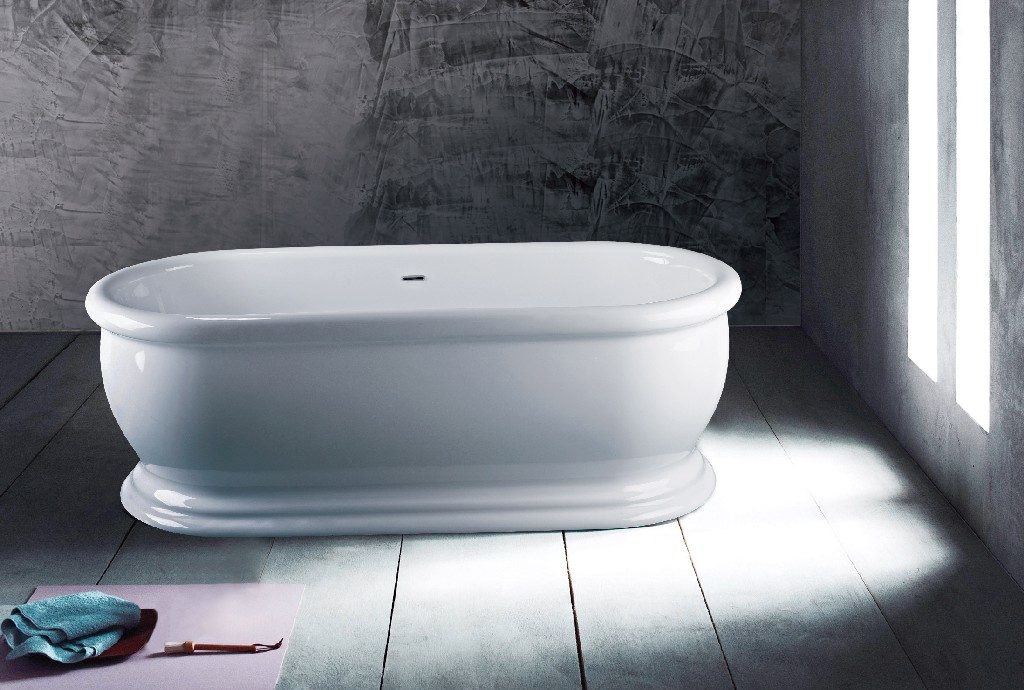 "Austin Freestanding Bathtub 69"" - A&E Bath and Shower BT-0643-NF"