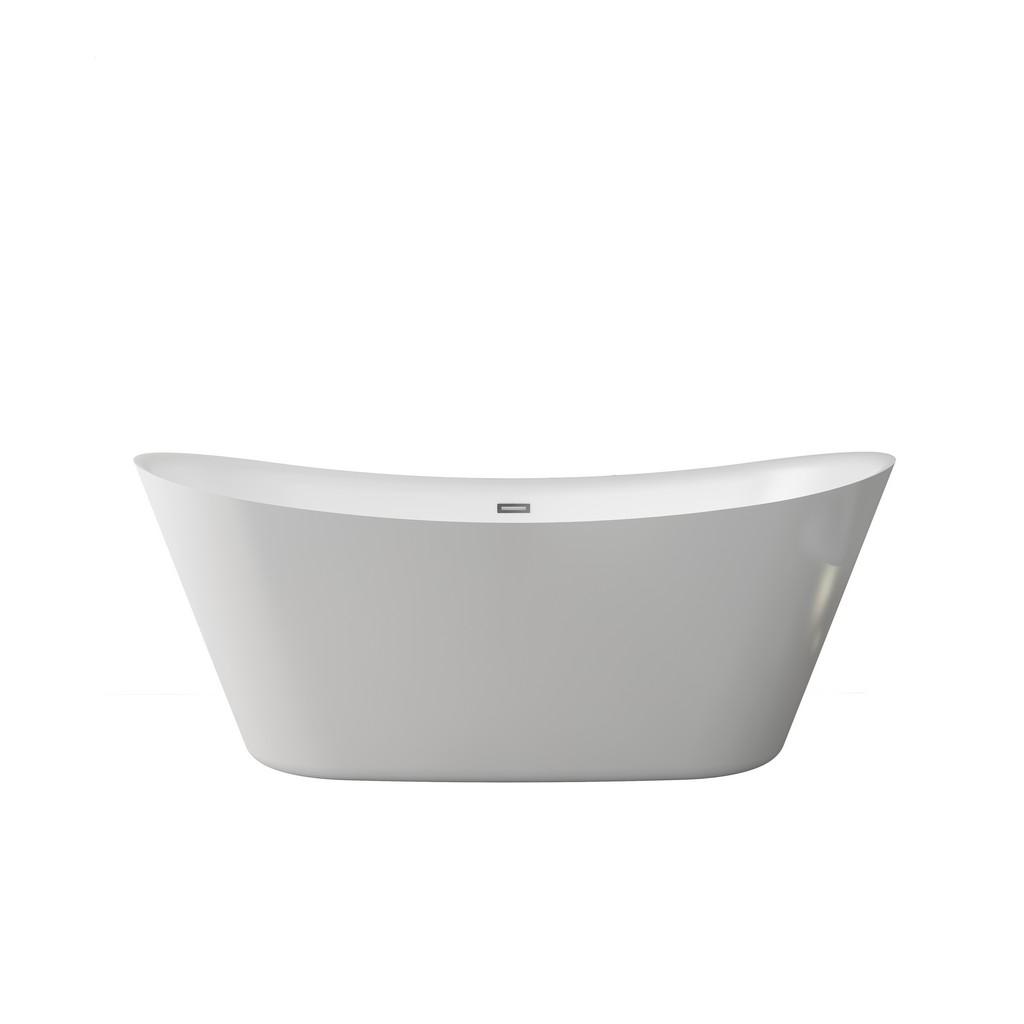 "Holland 67"" Freestanding Bathtub with no faucet - A&E Bath and Shower BT-3003"