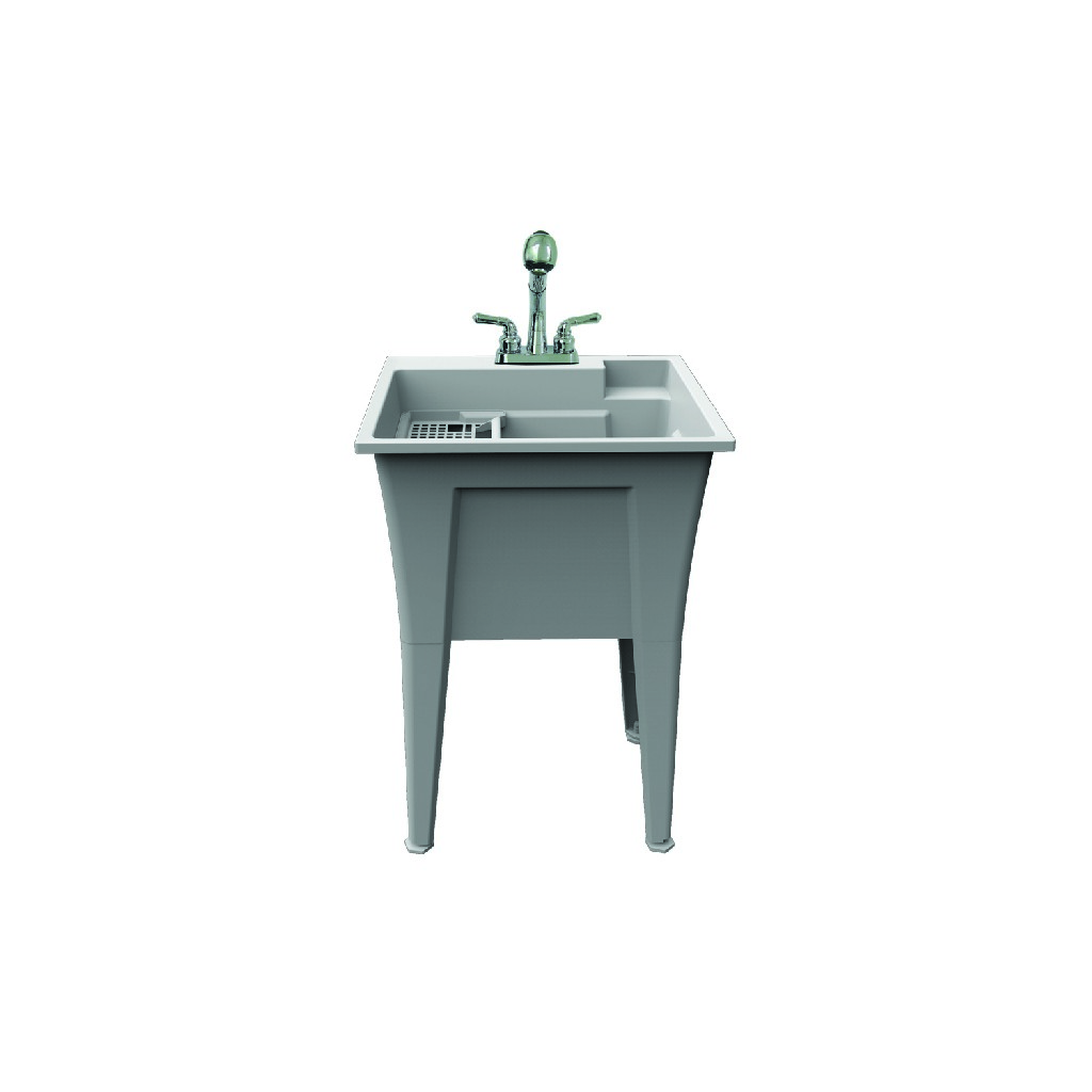 """Dalary Laundry Tub kit With Faucet 24"""" - A&E Bath and Shower LT-24-01"""
