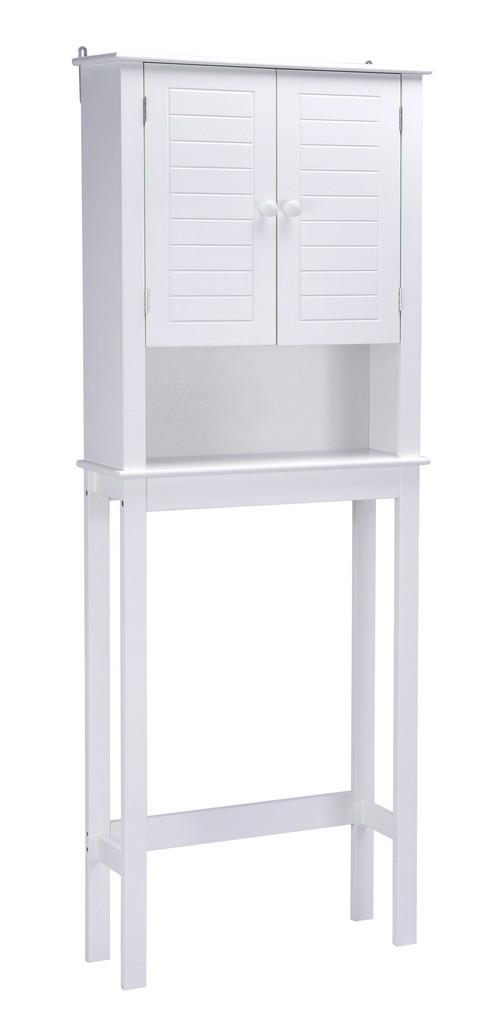Axil V Aboive the Toilet Cabinet - A&E Bath and Shower SU-WHT-05