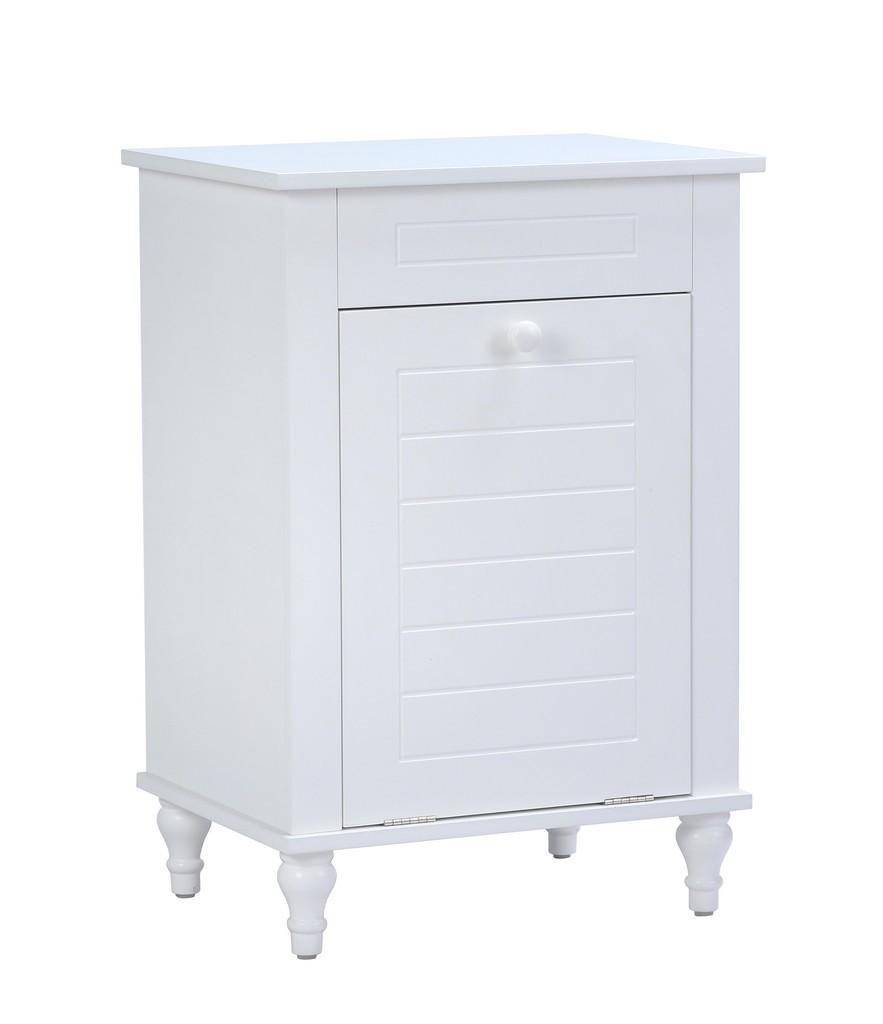 Axil VIII Laundry Cabinet - A&E Bath and Shower SU-WHT-08