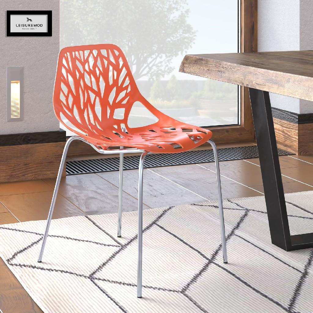 Modern | Chrome | Chair | Dine | Leg