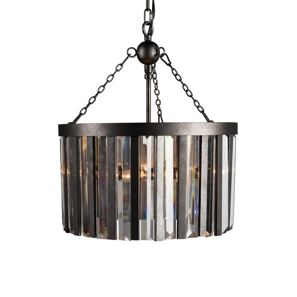 Athens 4-Light Flat Iron Chandelier - Kosas Home 56004160
