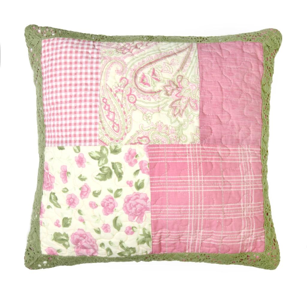 Donna Sharp Bashful Rose Decorative Pillow - American Heritage Textiles 51901