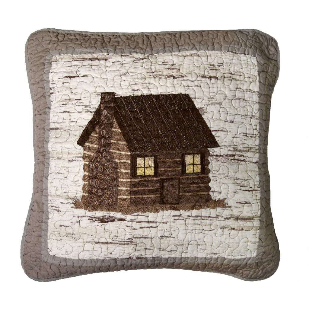 Donna Sharp Birch Forest Cabin Decorative Pillow - American Heritage Textiles 86101