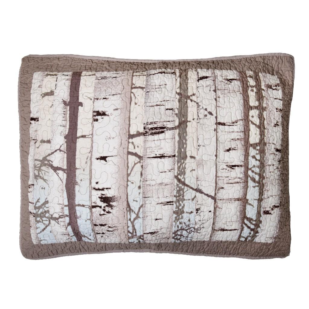 Donna Sharp Birch Forest Standard Sham - American Heritage Textiles 86102