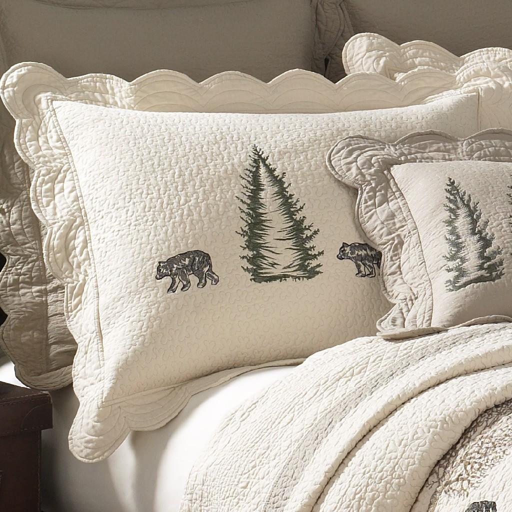 Donna Sharp Bear Creek King Sham - American Heritage Textiles 95303