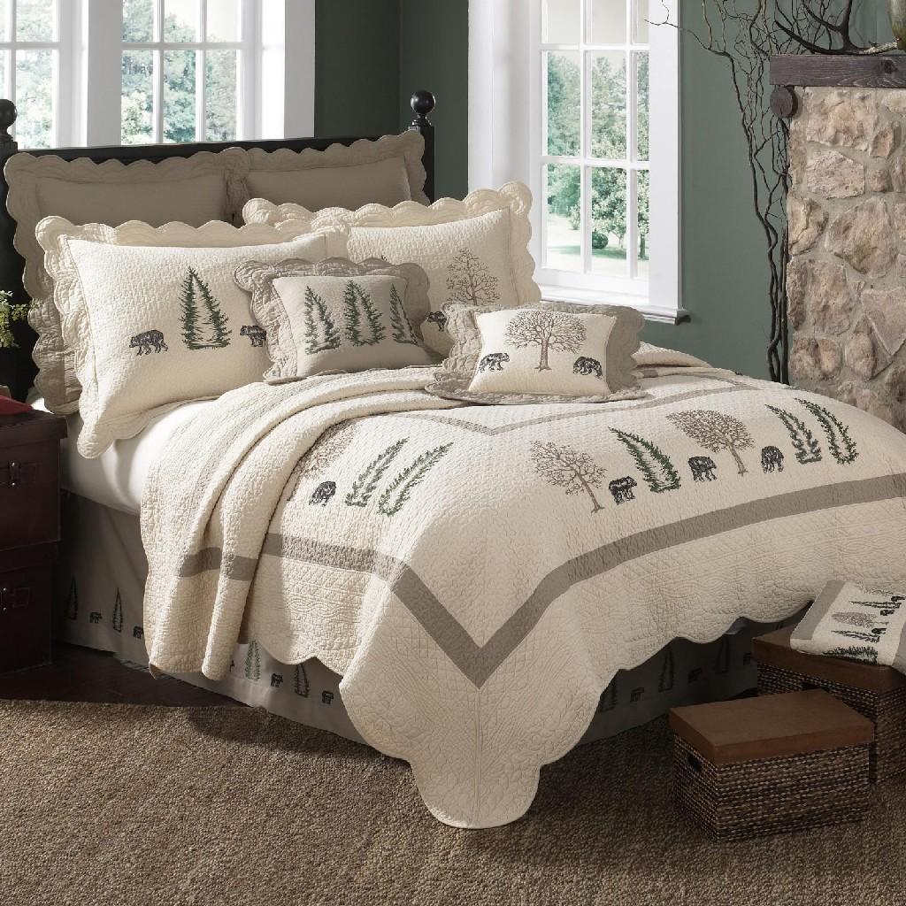 Donna Sharp Bear Creek Full/Queen Quilt - American Heritage Textiles 95306