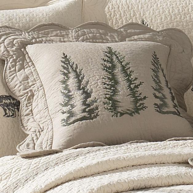 Donna Sharp Bear Creek Trees Decorative Pillow - American Heritage Textiles 95315