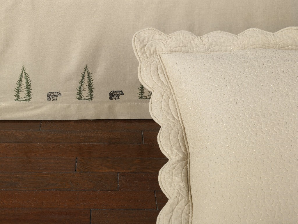 Donna Sharp Bear Creek Eurosham (Quilted) - American Heritage Textiles 95320