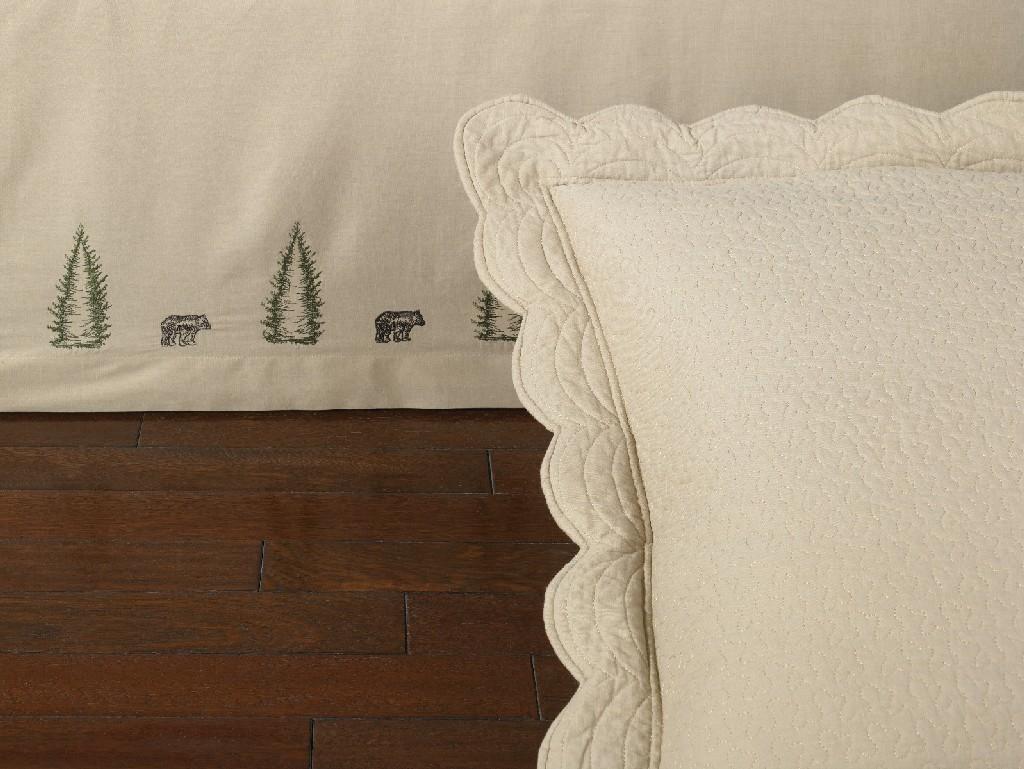 Donna Sharp Bear Creek Twin Bedskirt - American Heritage Textiles 95340