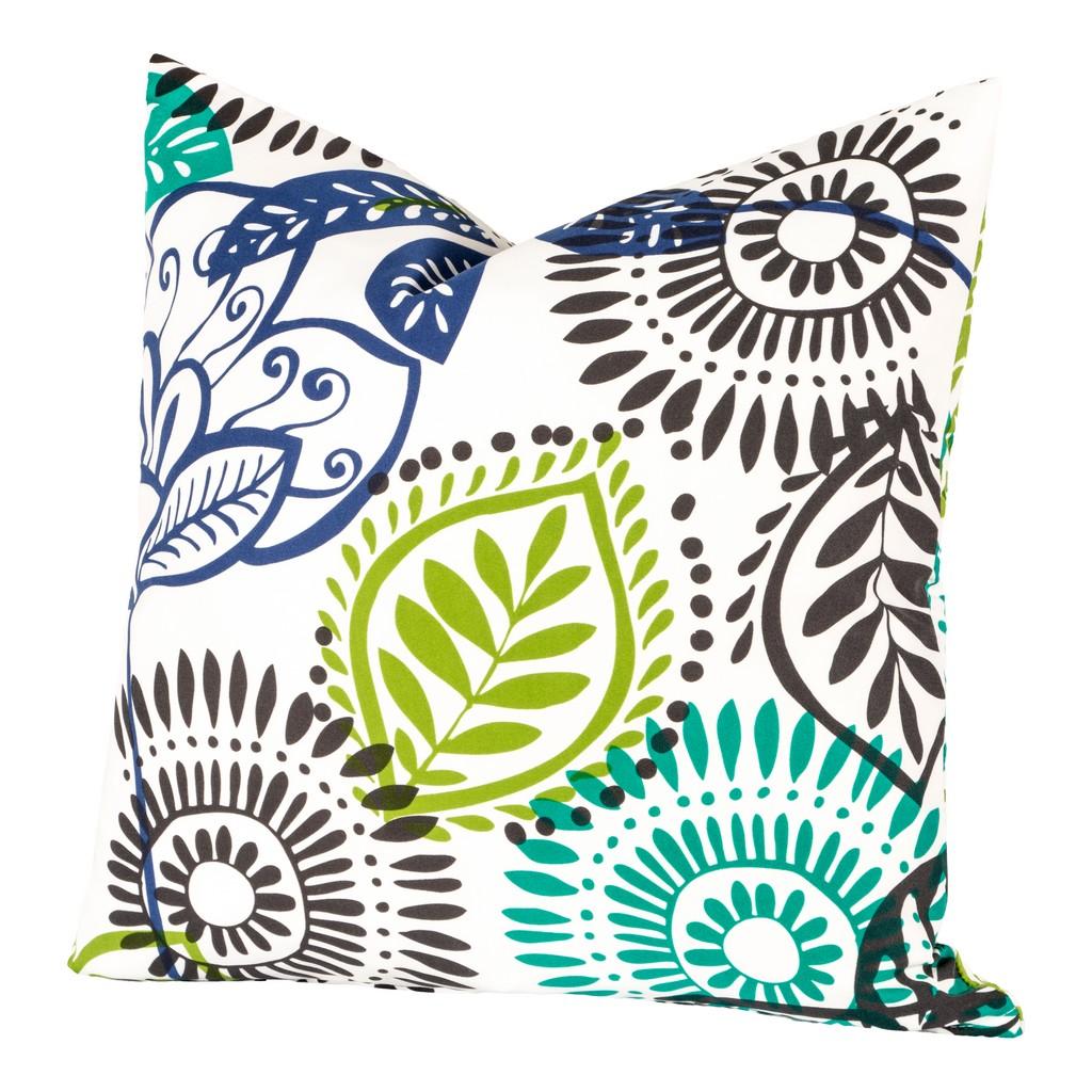 "Bali 26"" Designer Euro Throw Pillow - Siscovers BALI-P26"