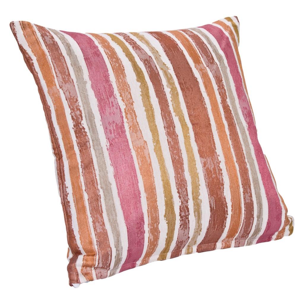 """Aruba Stripe 16"""" Designer Throw Pillow - Siscovers ARUB-P17"""