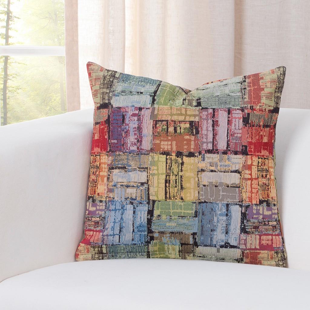"""Arthouse Multi 26"""" Designer Euro Throw Pillow - Siscovers ARMU-P26"""