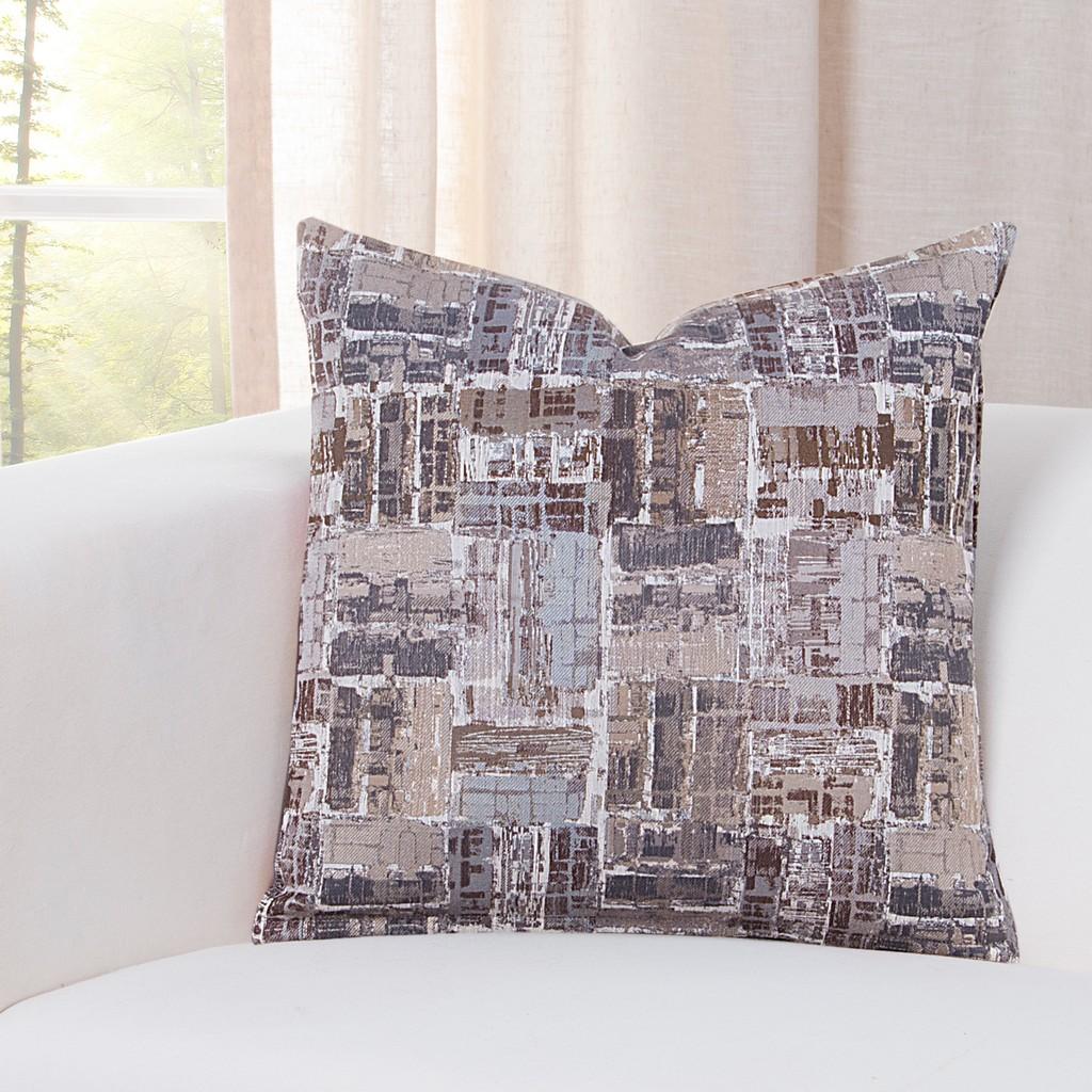 "Arthouse Granite 20"" Designer Throw Pillow - Siscovers ARGR-P20"