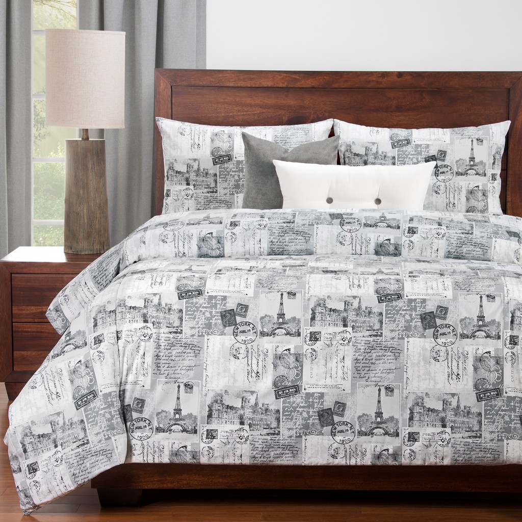 Amour 5-PC Twin Luxury Duvet Set - Siscovers AMOU-XDUTW5