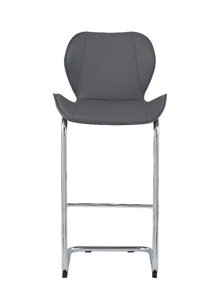 Barstools in Grey (Set of 4) - Global Furniture USA D1446BS (Set of 4) - GR