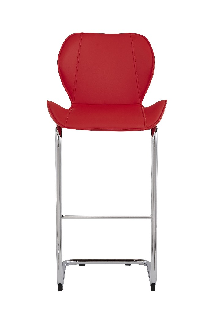 Barstools in Red (Set of 4) - Global Furniture USA D1446BS (Set of 4) - R