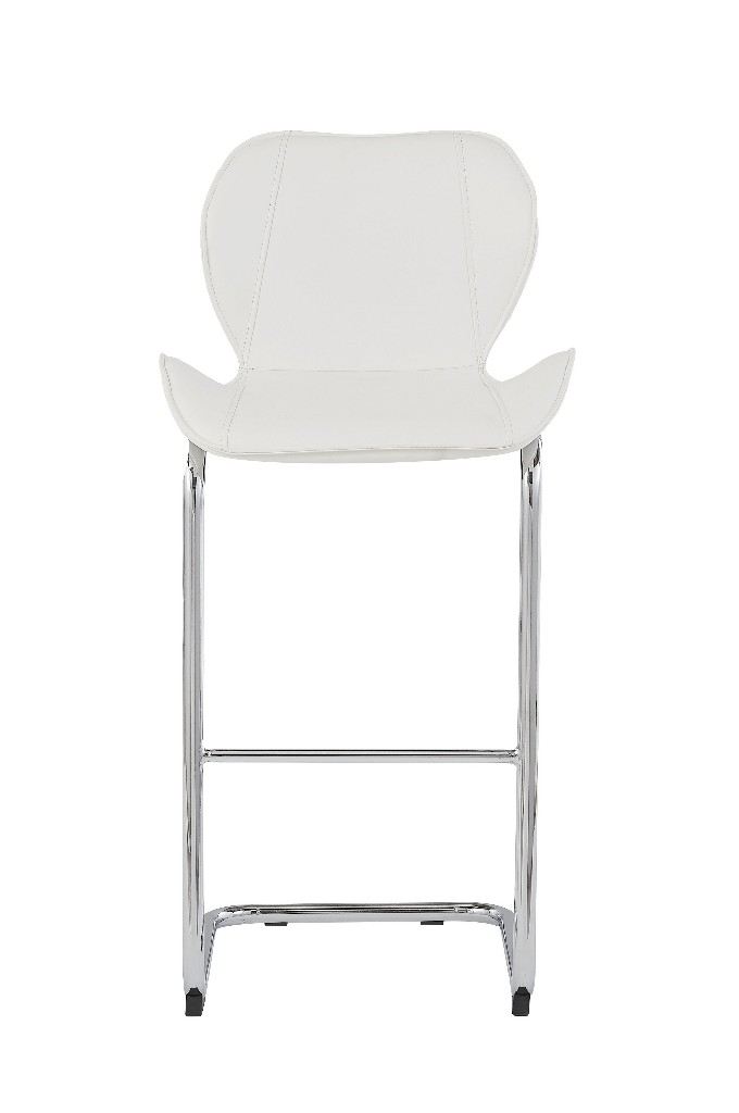 Barstools in White (Set of 4) - Global Furniture USA D1446BS (Set of 4) - WH