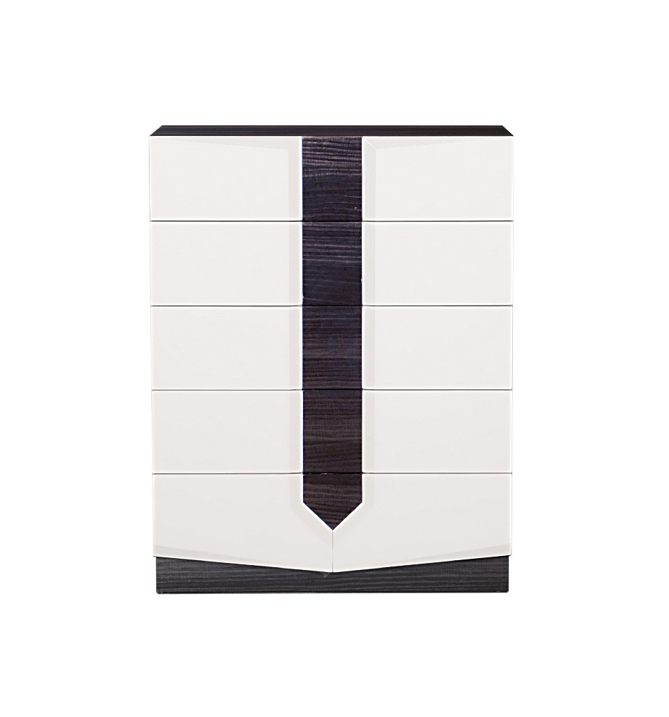 Chest in White & Grey - Global Furniture USA HUDSON(988)-CH