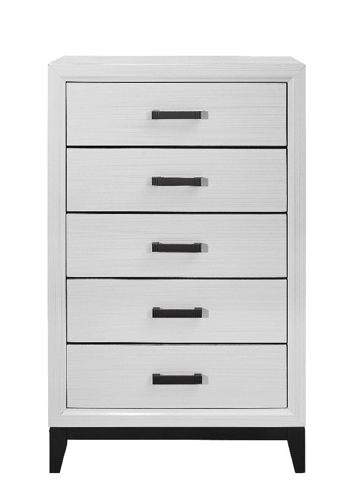 Chest in White - Global Furniture USA KATE-WHITE-CH
