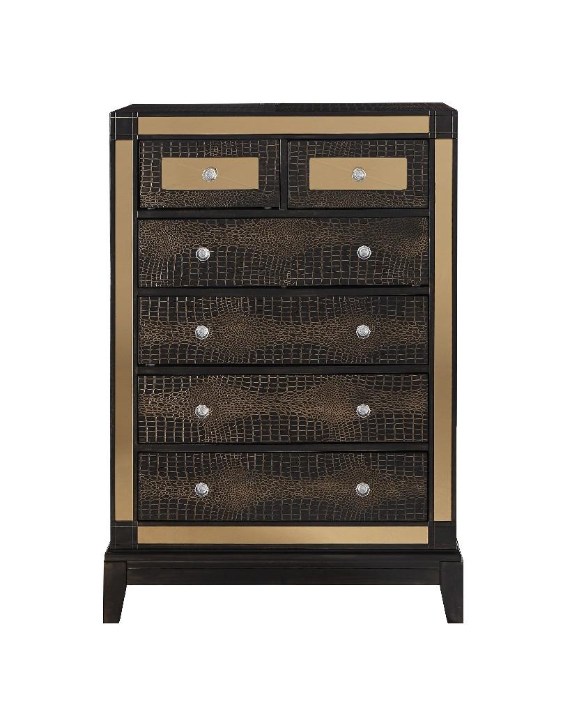 Chest in Chocolate - Global Furniture USA MIRROR-CHOC-CH