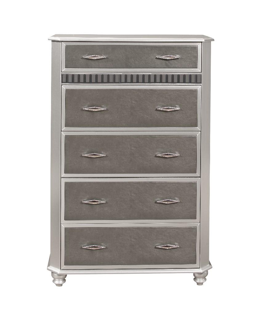 Chest in Silver - Global Furniture USA REMI-SILVER-CH
