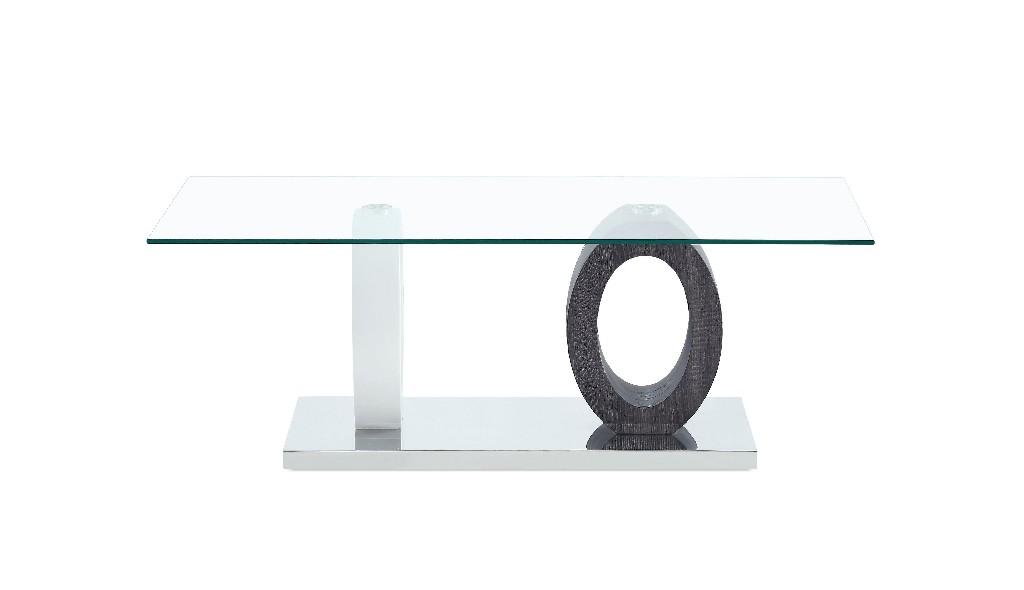 Coffee Table in White & Grey - Global Furniture USA T1628C