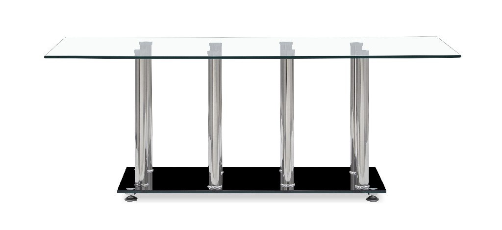 Coffee Table in Silver & Black - Global Furniture USA T368CT (M)