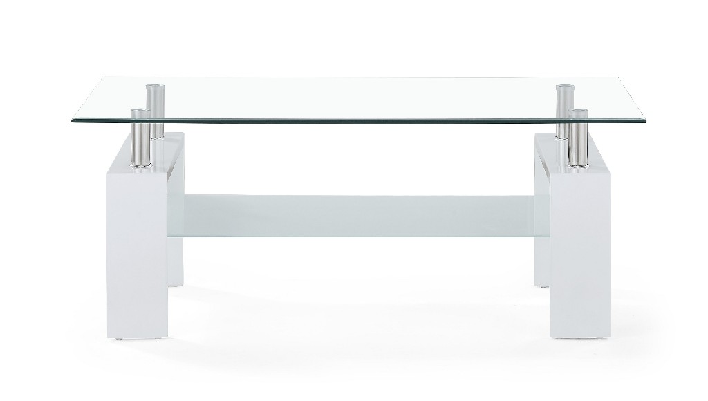 Coffee Table in White - Global Furniture USA T648CT (M)