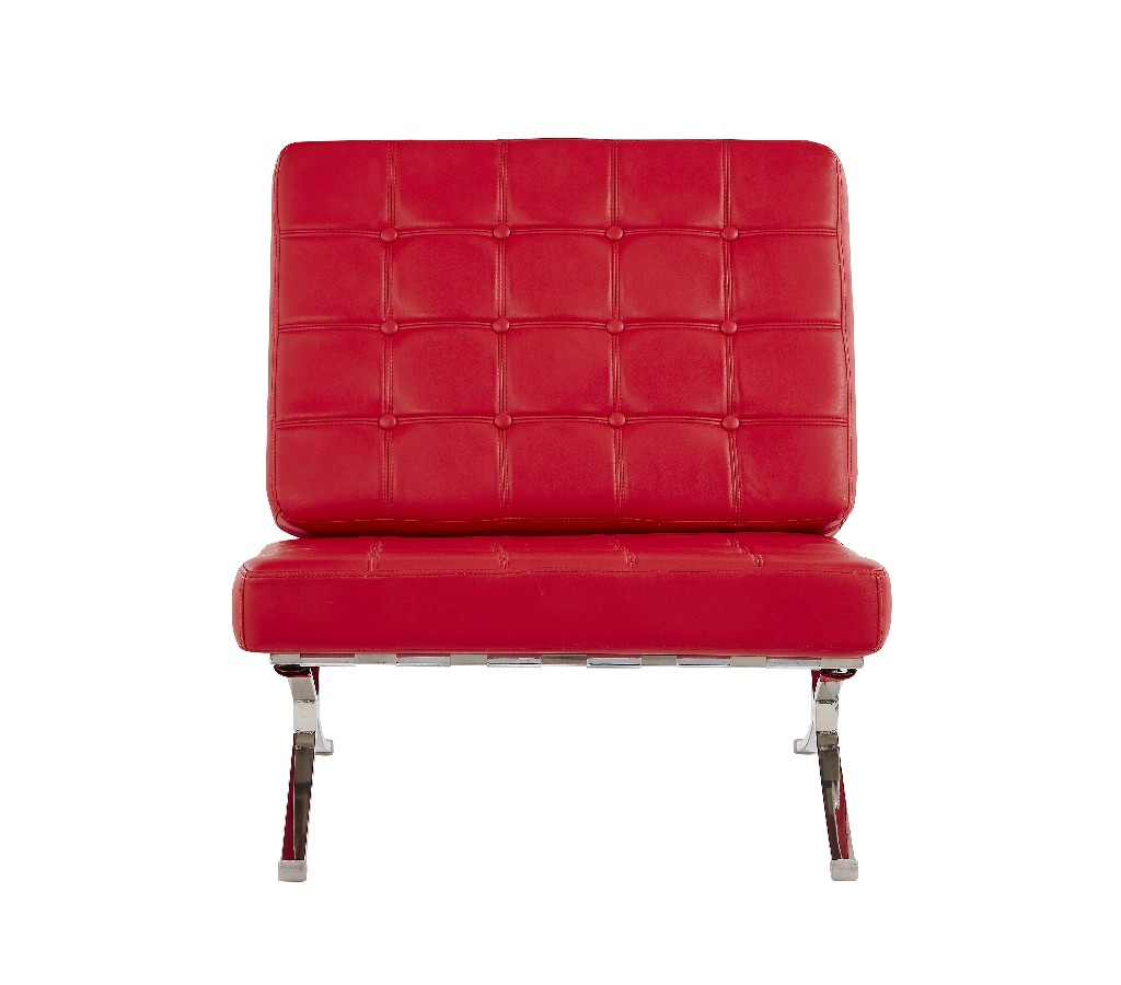 Chair Natalie Red in Red - Global Furniture USA U6293-R-CH (M)