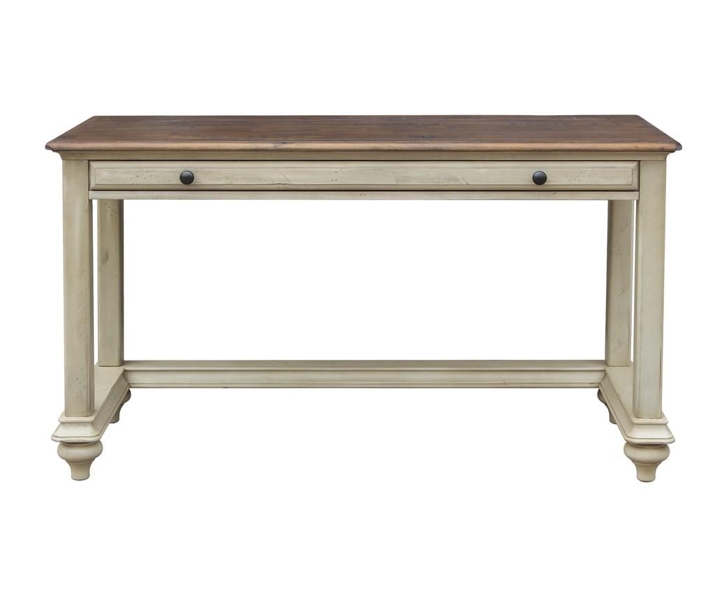 Sand Computer Desk Vanity Table