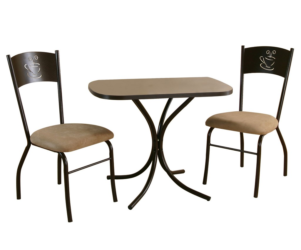 Sunset Trading 3 Piece Dark Cappuccino Dinette Set - Sunset Trading CR-D8272-65