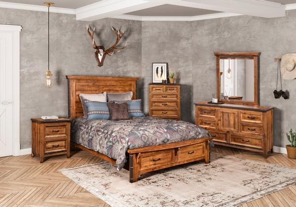 Rustic City Queen Bedroom Set