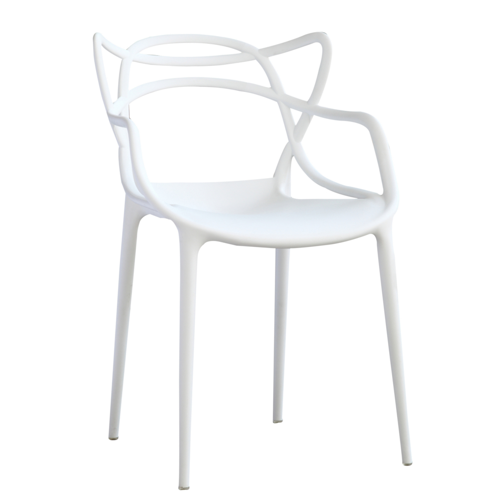 Fine Mod Imports Brand Name Dining Chair In White - FMI10067-WHITE