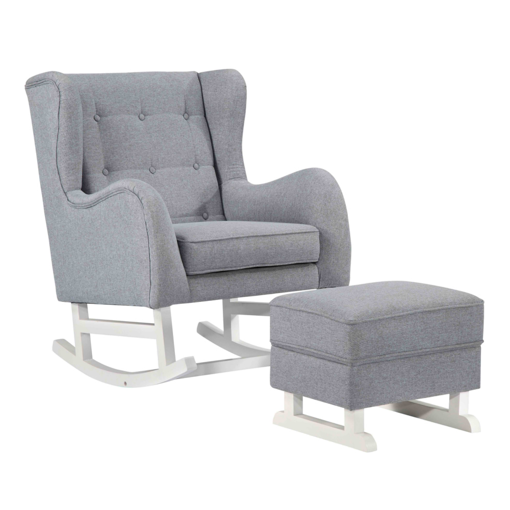 Fine Mod Imports Baby Lounge Chair In Gray - FMI10263-GRAY