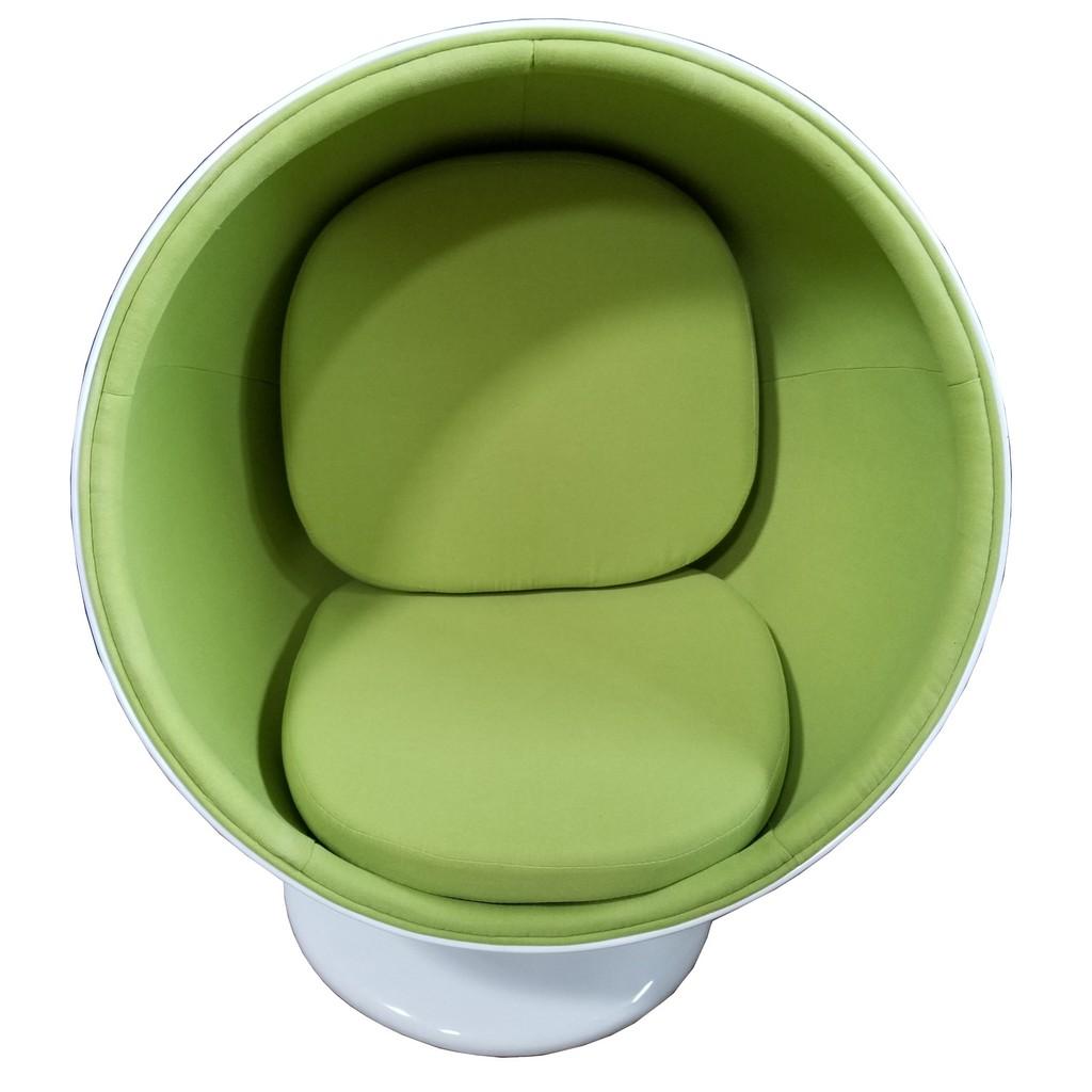 Fine Mod Imports Ball Chair In Green - FMI1150-GREEN