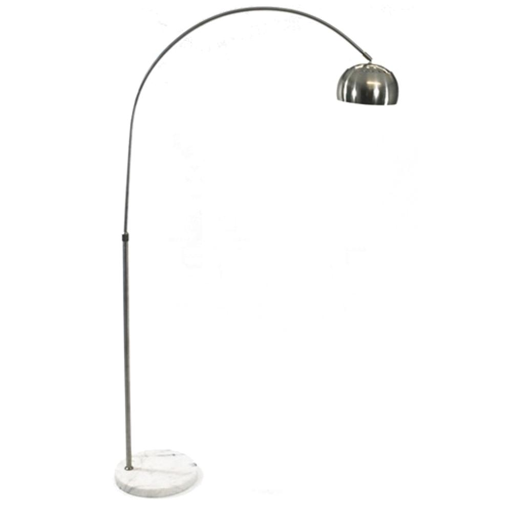 Fine Mod Imports Arco Coster Lamp In White - FMI9260-WHITE