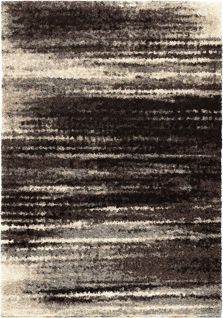 American Heritage Interference Black Area Rug - Orian Rugs AHS/BLSL/81BA/240X330