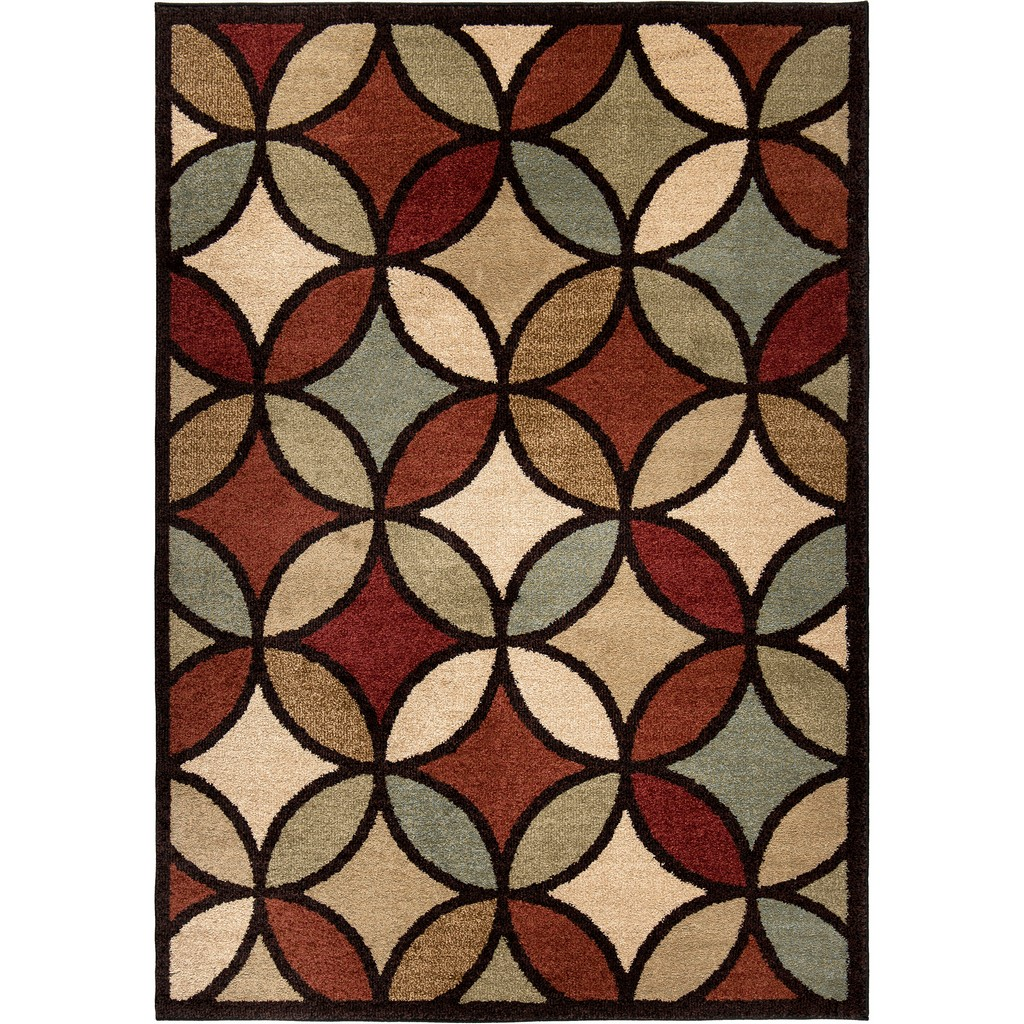American Heritage Funhouse Area Rug - Orian Rugs AHS/FUHO/83M0/240X330