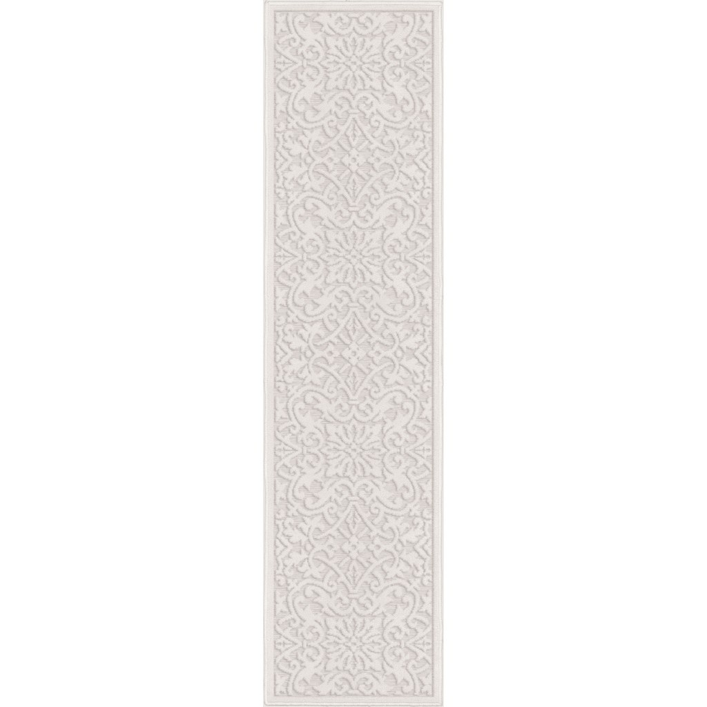 Boucle Indoor/Outdoor Biscay Natural Runner Rug - Orian Rugs BCL/BISC/40NT/058X230