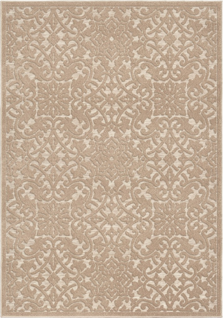 Boucle Indoor/Outdoor Biscay Driftwood Area Rug - Orian Rugs BCL/BISC/43DR/160X230