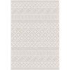 Boucle Indoor/Outdoor Coastal Diamond Natural Area Rug - Orian Rugs BCL/CODM/40NT/160X230