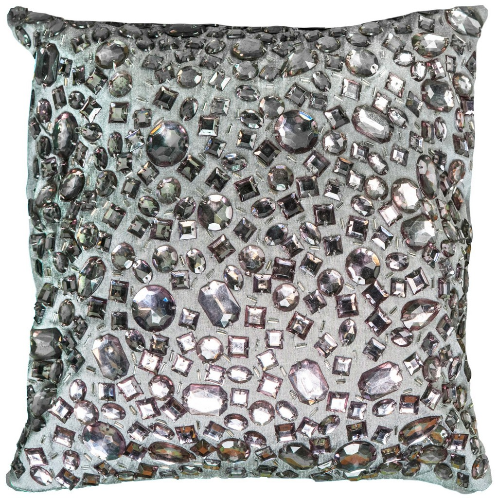 """12"""" x 12"""" Pillow - Rizzy Home COVT05936GY001212"""