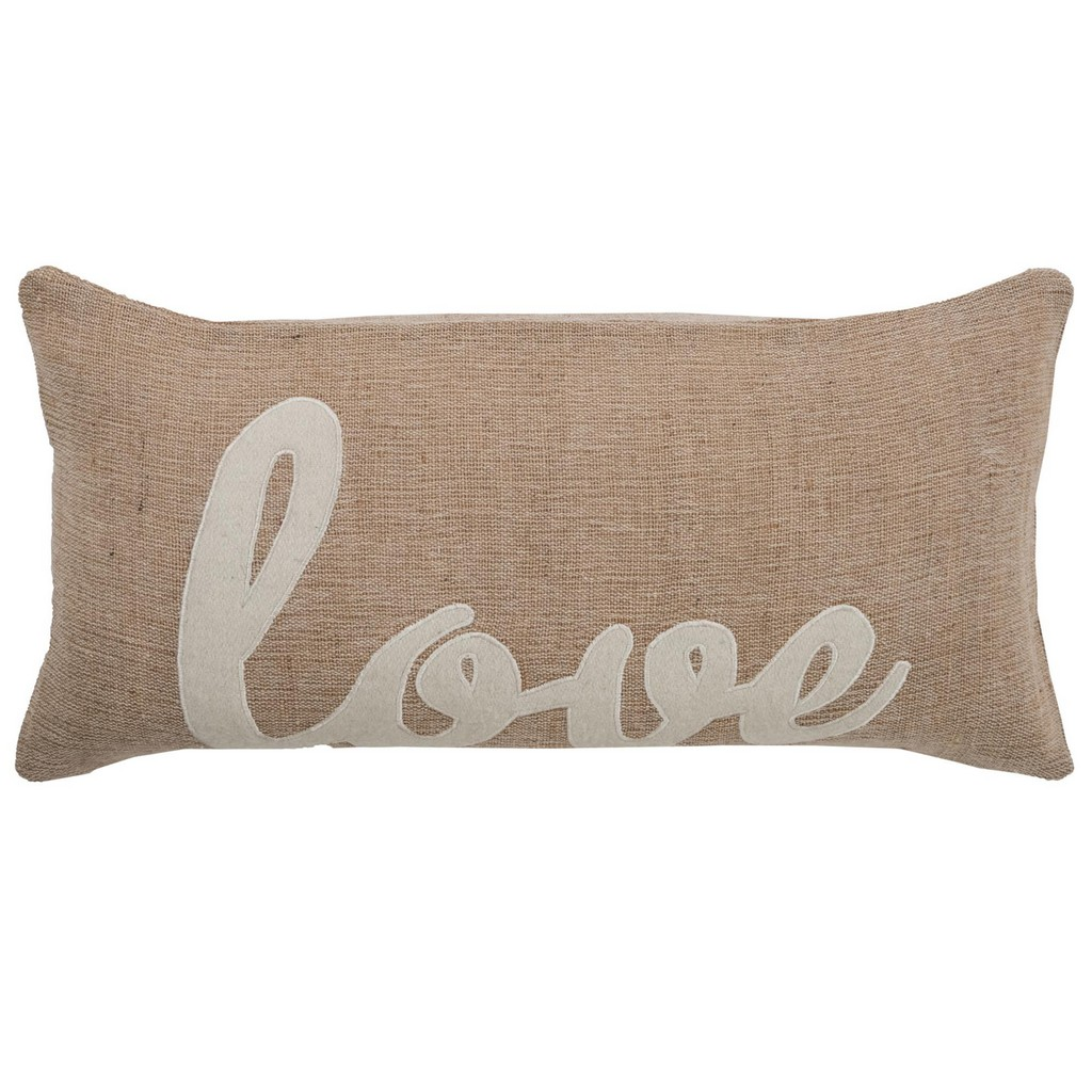 """11"""" x 21"""" Pillow Cover - Rizzy Home COVT06153BEWH1121"""
