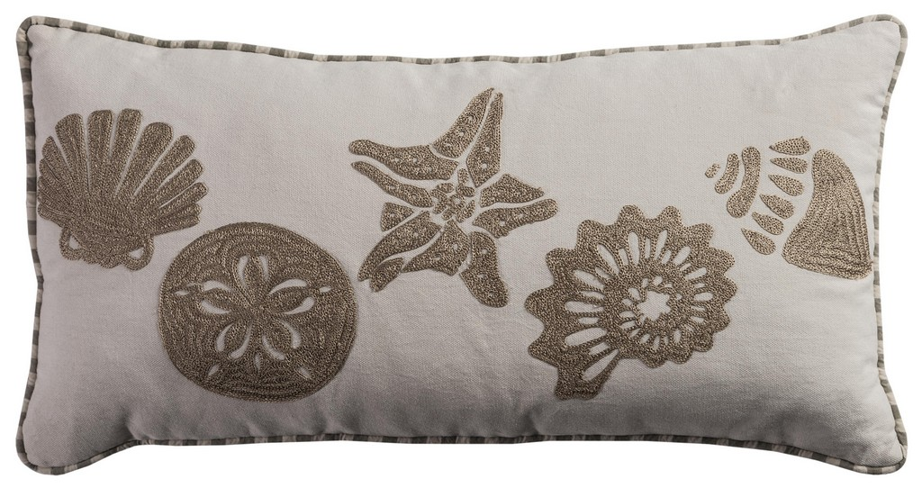 """11"""" x 21"""" Pillow Cover - Rizzy Home COVT0886800421121"""