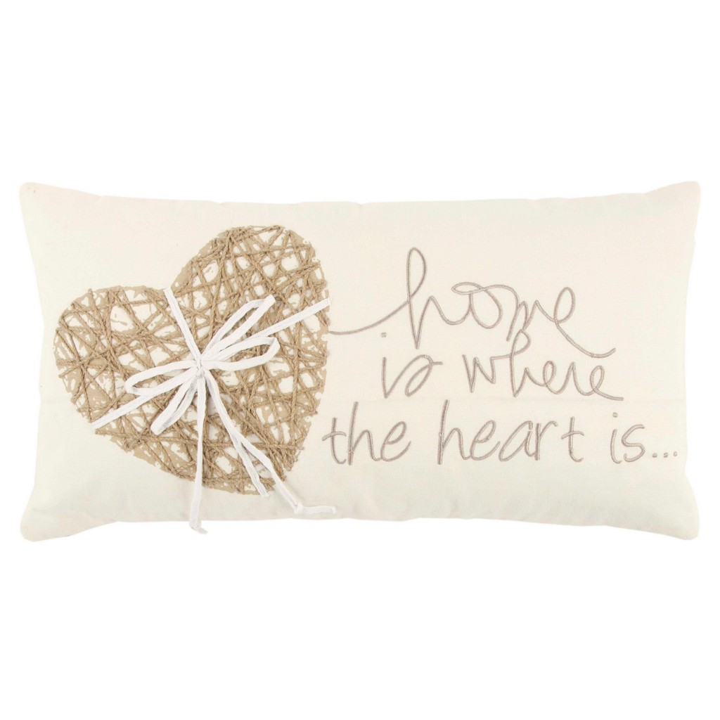 """11"""" x 21"""" Pillow Cover - Rizzy Home COVT13306IVNT1121"""